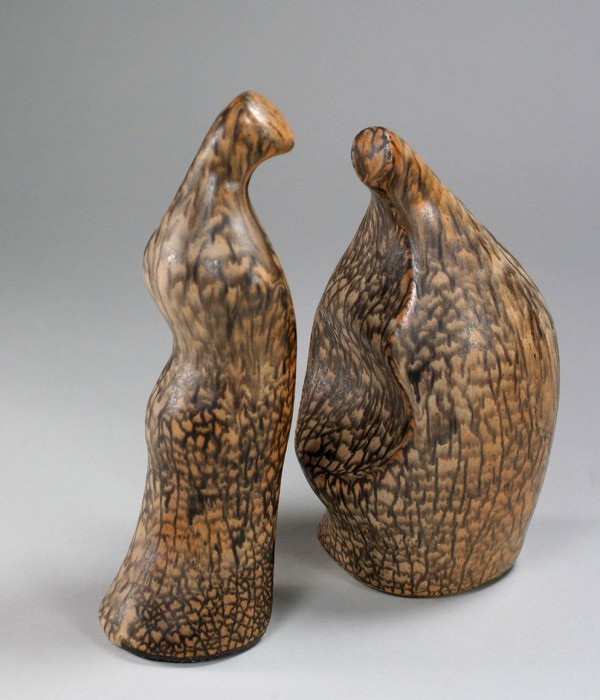 Lisa Körting, pair of figures, about 1975